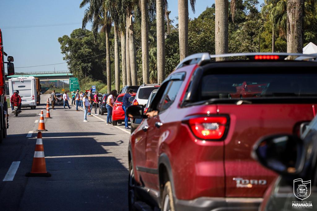 Read more about the article Mais de 19 mil veículos são abordados em Barreira Sanitária